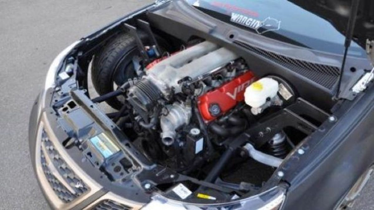 The Ten Craziest Automotive Engine Swaps Ever Attempted