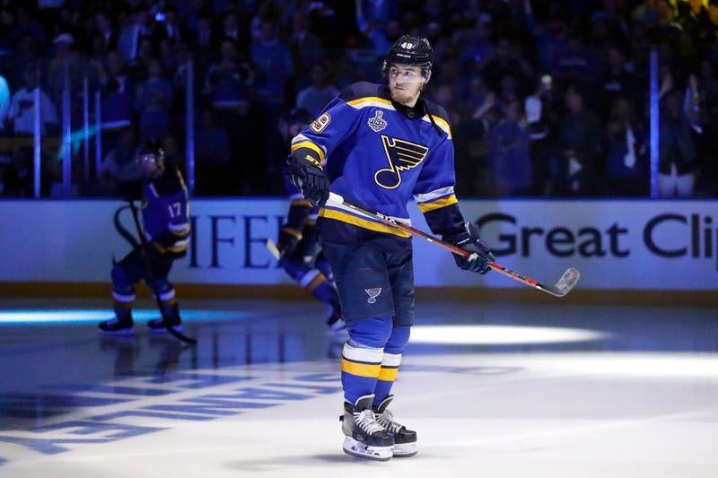 Illustration for article titled Ivan Barbashev Is Suspended For Game 6 And The Blues Will Miss Him