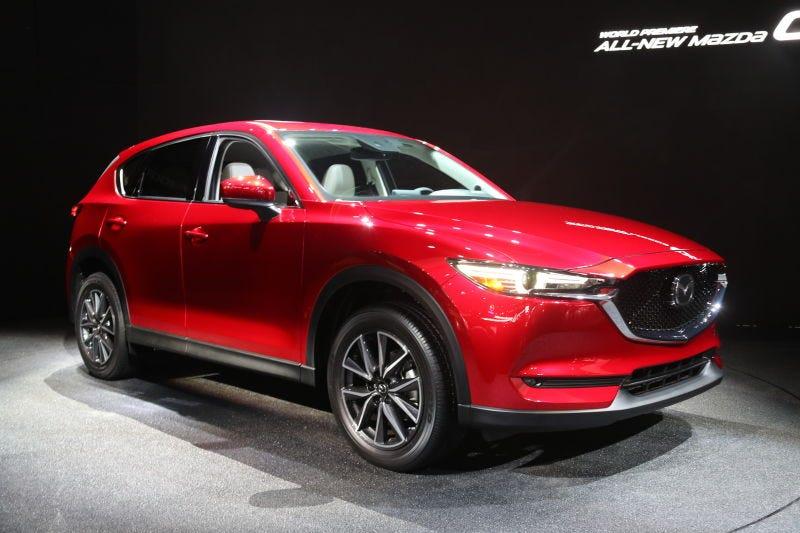 Mazda ya no vendrá un manual CX-5 y no estoy ni siquiera loco