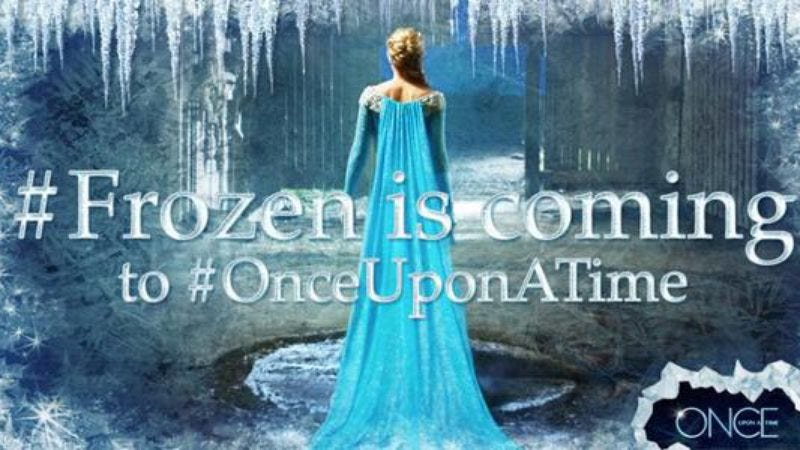 Illustration for article titled Frozen's Elsa will invade Once Upon A Time next season