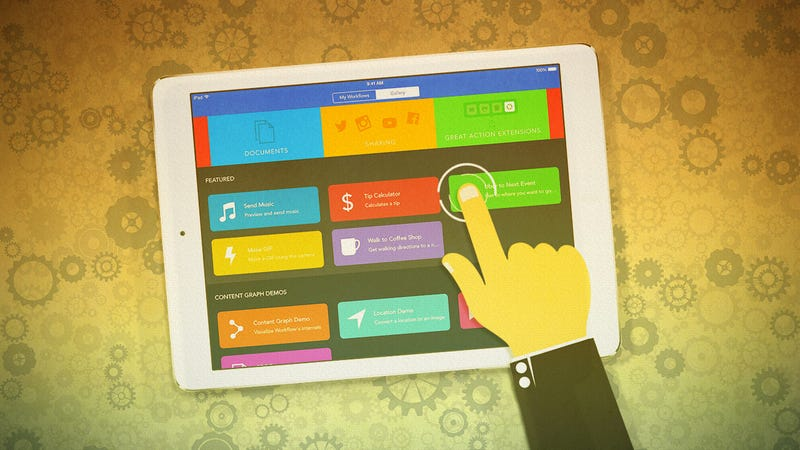 Illustration for article titled How to Create Your Own iOS Apps and Extensions with Workflow