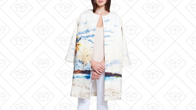 424 FIFTH Plus Palm Tree Jacket, $114 with code LTLOVE