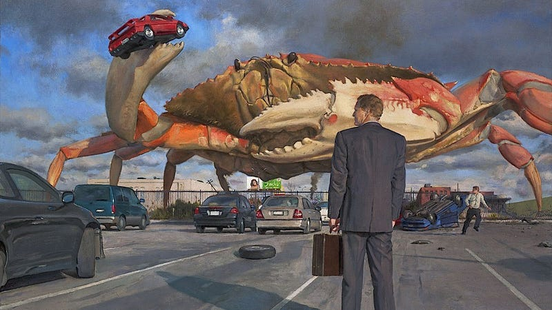 Illustration for article titled This Is The Greatest Automotive Painting I've Ever Seen