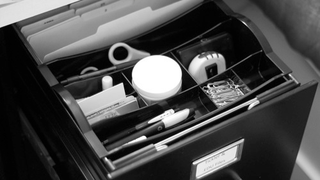 Illustration for article titled Hanging Drawer Organizers