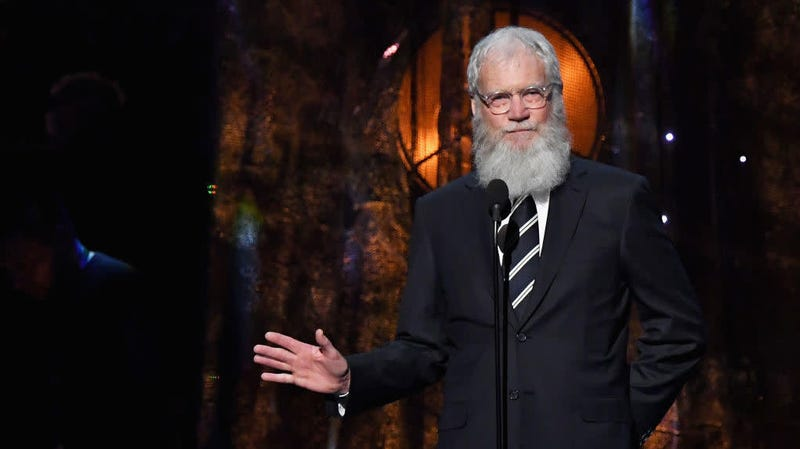 """Illustration for article titled David Letterman says we need to """"stop yakking about what a goon"""" Trump is and vote"""