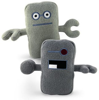 Illustration for article titled Huggable Plush Robots Teach Us Not to Fear the Future