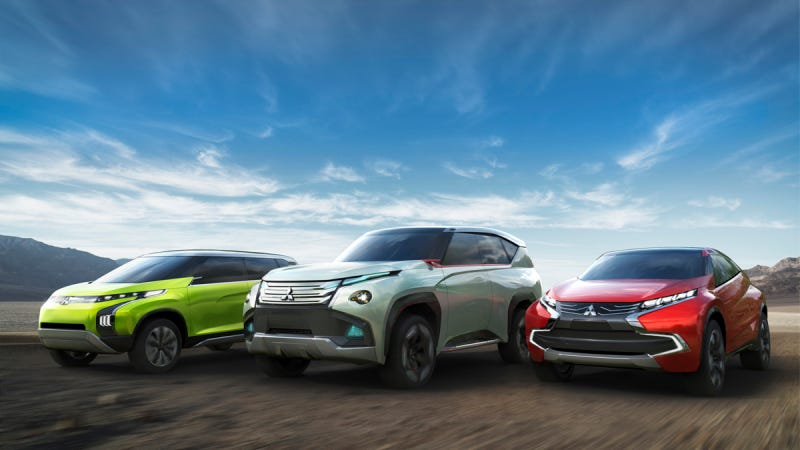 Illustration for article titled Mitsubishi Motors Lineup At The 2013 Tokyo Motor Show