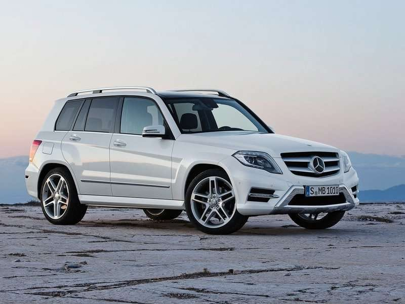 Illustration for article titled Mercedes GLK is the best looking suv