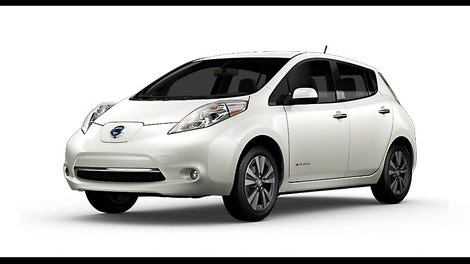 Holy Used Nissan Leafs Are Incredibly