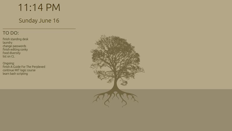 Illustration for article titled The Flat Brown Desktop