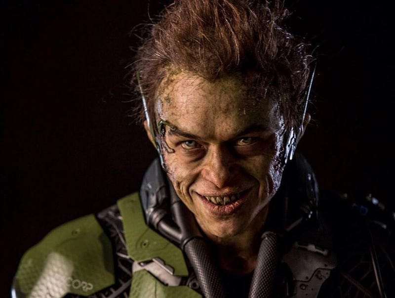 Illustration for article titled Super Gross Close-Up Of Spider-Man's New Green Goblin Is Super Gross
