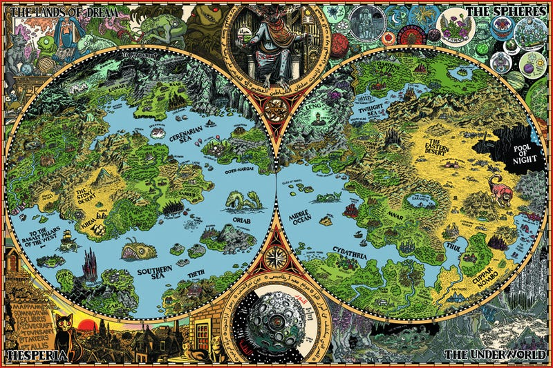 10 rules for making better fantasy maps if you look at the beautifully illustrated fantasy maps on posters in books and across the internet and wish that you could make such incredible pieces of gumiabroncs Choice Image