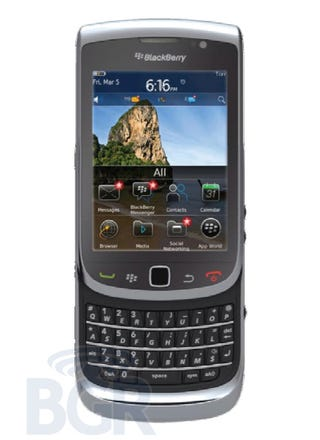 Illustration for article titled Rumor: BlackBerry Torch 2 May Actually Be Pretty Great