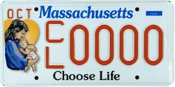 """Illustration for article titled The Latest Craze In """"Vanity"""" Plates"""