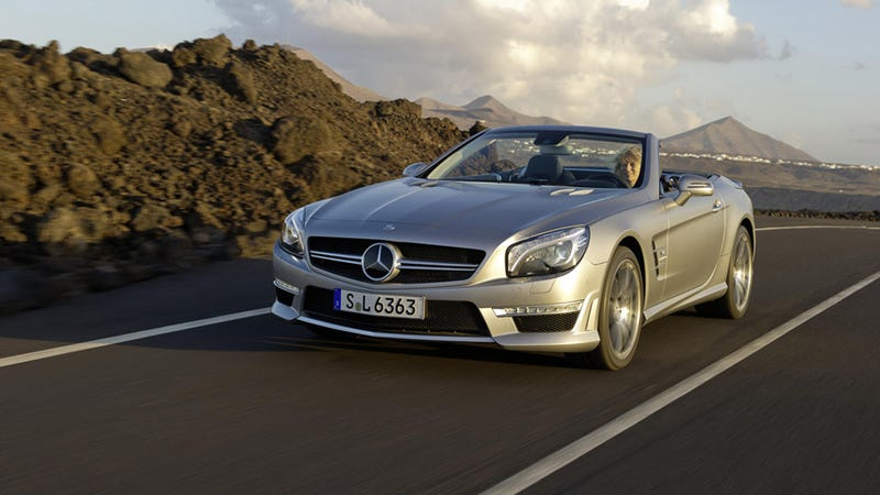 Illustration for article titled 2013 Mercedes-Benz SL63 AMG: The Overweight Lover's In The House
