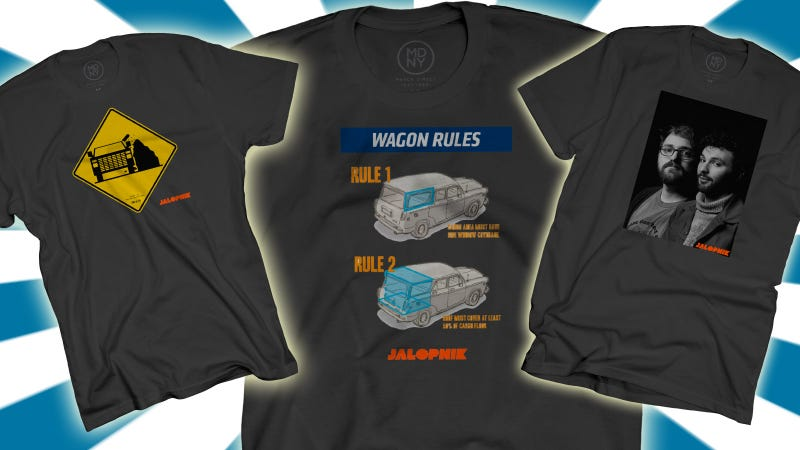 Illustration for article titled Spring Has Arrived, So It's Time To Swag Out With New Jalopnik Shirts
