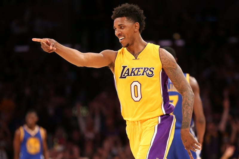 Nick Young of the Los Angeles Lakers Stephen Dunn/Getty Images