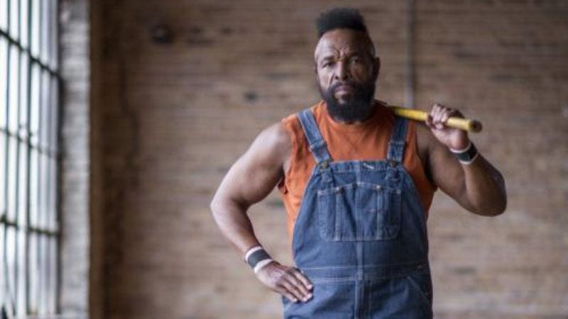 Illustration for article titled Mr. T to star in his own home-improvement show
