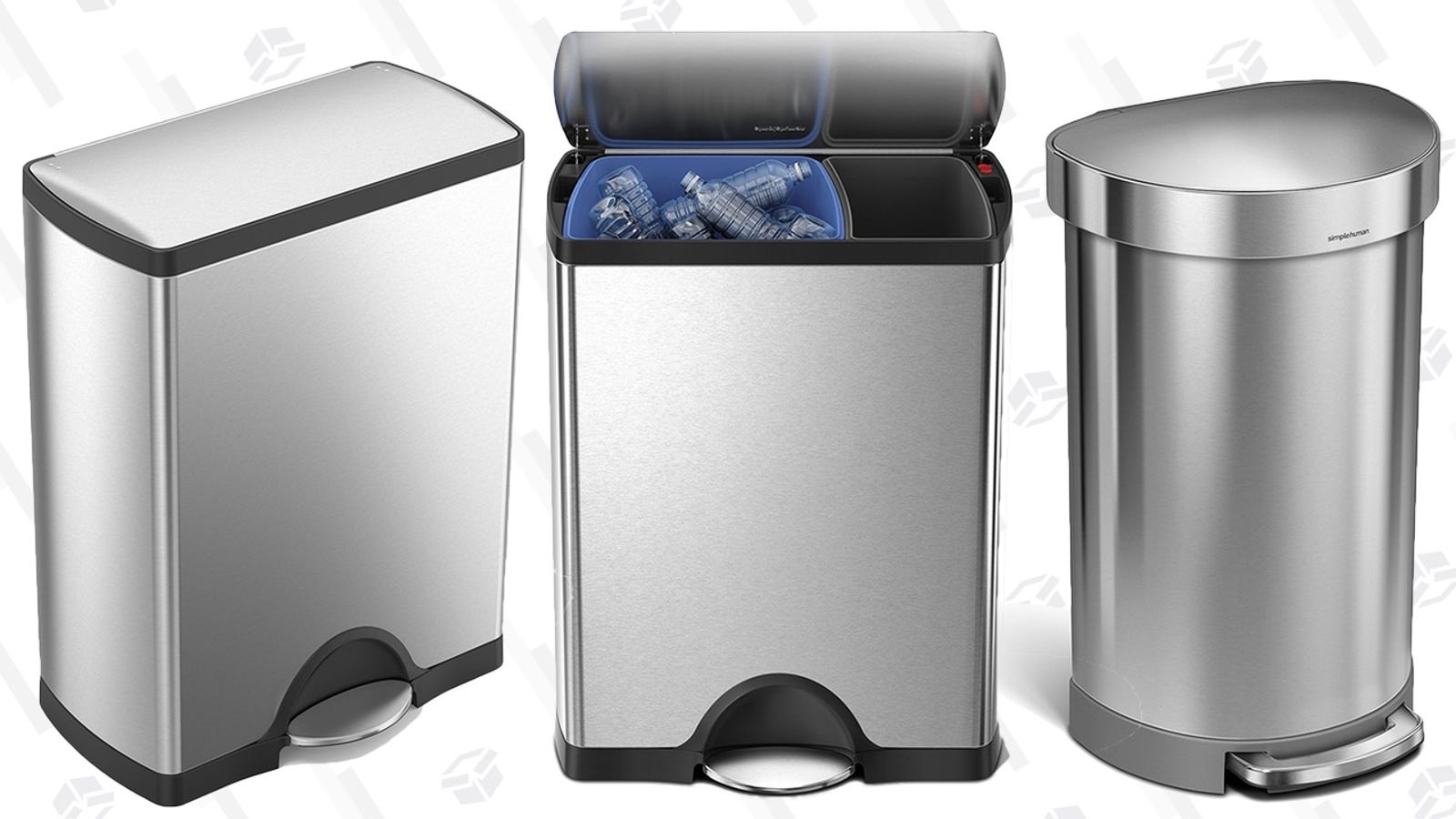 These Simplehuman Trash Can Deals Aren't Garbage