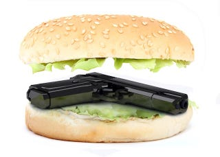 Illustration for article titled Woman Shoots Up a McDonald's Because of a Burger; Is Headed to McJail