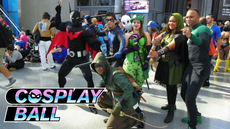 Illustration for article titled Wanna Come to io9 and Kotaku's Cosplay Ball at New York Comic-Con? Read This [Updated]