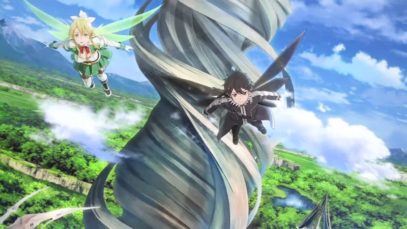Illustration for article titled Sword Art Online, Now With Flying