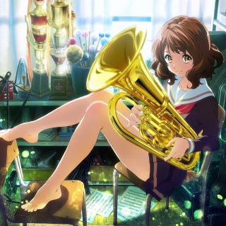 Illustration for article titled Here is Sound!Euphonium Tv Ad
