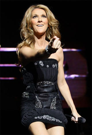 Illustration for article titled Celine Dion: Sexy!  Powerful!  Proud!