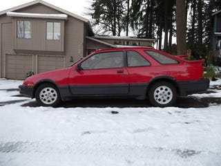 Illustration for article titled Portland oppos - MANUAL XR4Ti FOR $500