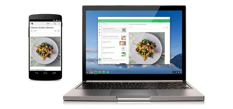 Illustration for article titled Las primeras aplicaciones Android llegan por fin a Chrome OS