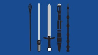 Illustration for article titled Which of These Awesome Movie Weapons Would You Choose In Real Life?