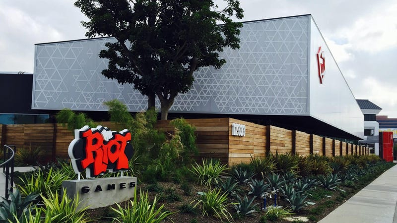 Riot Games' offices.