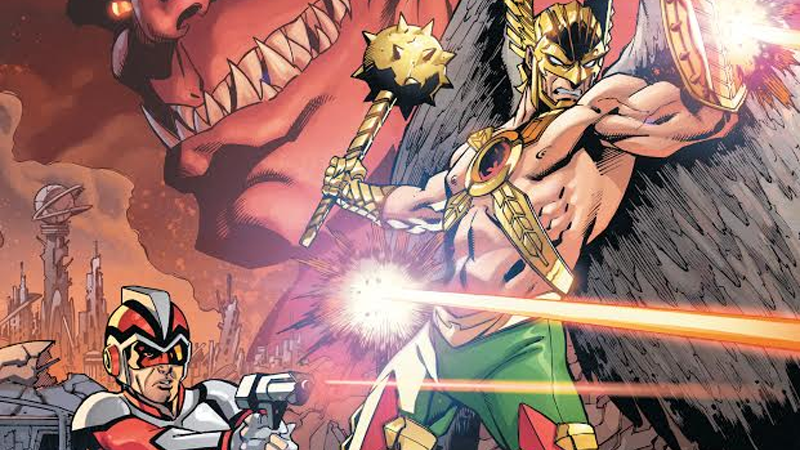 Illustration for article titled Will Anybody Care If DC Comics Kills Hawkman Again?