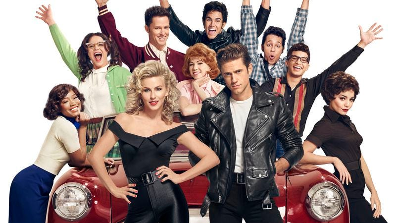 The cast of Grease: Live! (Fox)