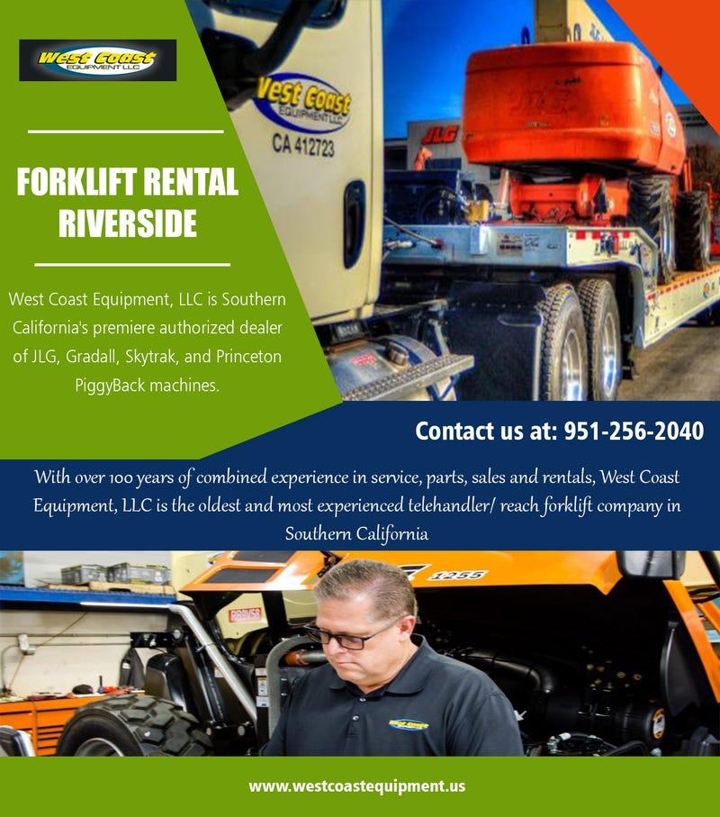 Illustration for article titled Forklift Rental Riverside||westcoastequipment.us||1-9512562040