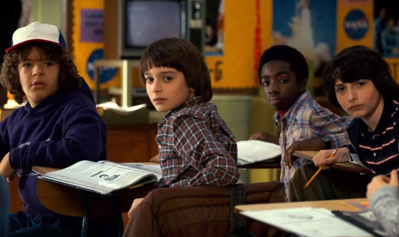 The boys will be back in 2019 for Stranger Things 3.