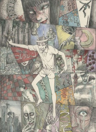 Illustration for article titled The Junji Ito´s Horror anime will premier in Winter 2018
