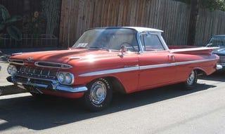 Illustration for article titled 1959 Chevrolet El Camino