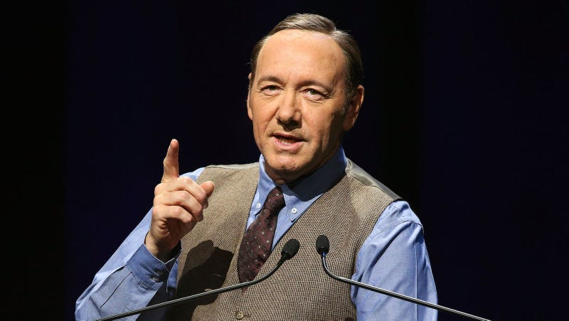 Illustration for article titled The Kevin Spacey Foundation, Created to Support Young Artists, Is Being Shut Down