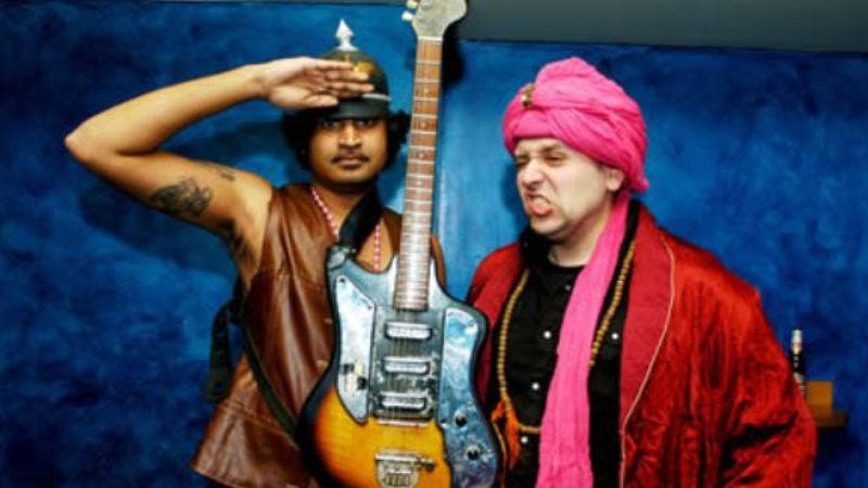 Illustration for article titled Bustin' loose with the King Khan And BBQ Show