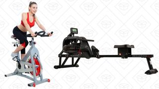 Bicicleta Sunny Health & Fitness Pro | $208 | AmazonMáquina de remar Sunny Health & Fitness | $399 | Amazon