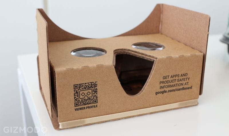 Illustration for article titled Google Cardboard Gets a Big Upgrade With Realistic 3D Audio