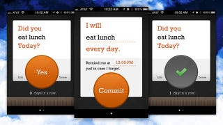 Illustration for article titled Commit Keeps You Committed To Daily Tasks