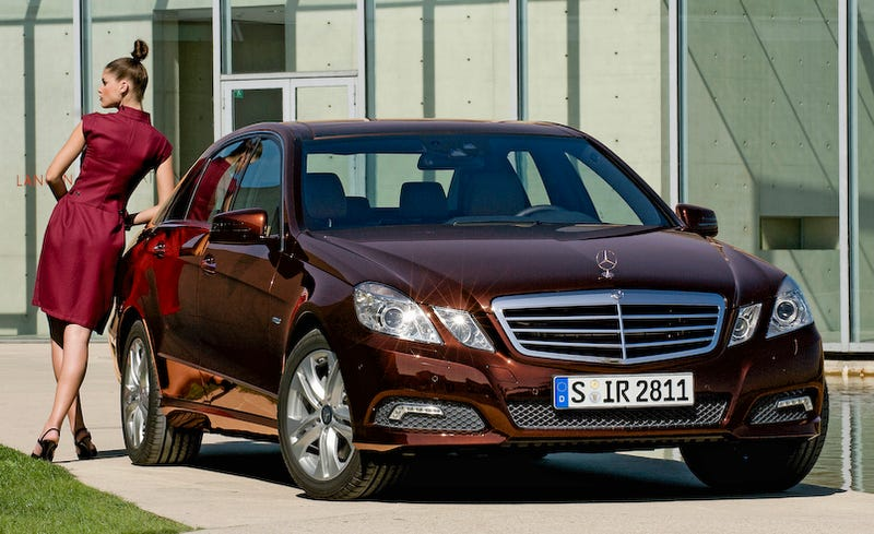 Illustration for article titled 2010 Mercedes E-Class: Mega Gallery