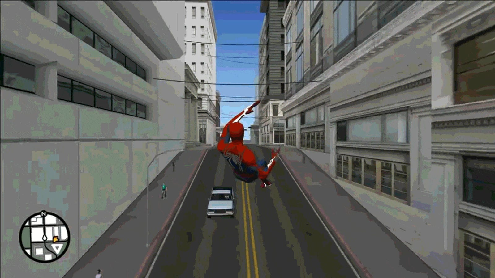 A Modder Has Spent Years Adding Spider-Man Into GTA San Andreas