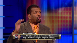"Illustration for article titled Rob Parker's ""Cornball Brother"" Comment Is Still A Big Headache For ESPN"
