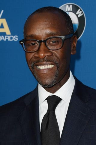 Actor Don Cheadle attends the 66th Annual Directors Guild of America Awards held at the Hyatt Regency Century Plaza in Century City, Calif., Jan. 25, 2014. Frazer Harrison/Getty Images for DGA