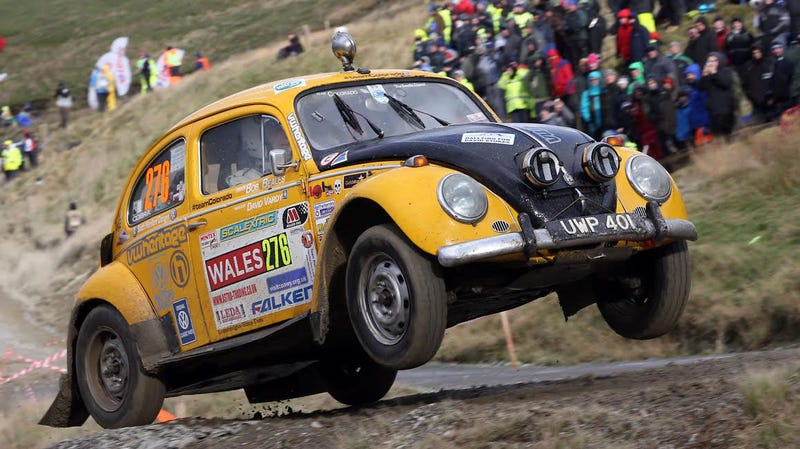 Illustration for article titled This 58-Year-Old Rally Beetle Named 'Bertie' Is Here To Decimate All