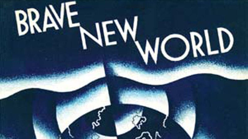 Illustration for article titled Grant Morrison and Bryan Taylor Are Adapting Brave New World for Syfy