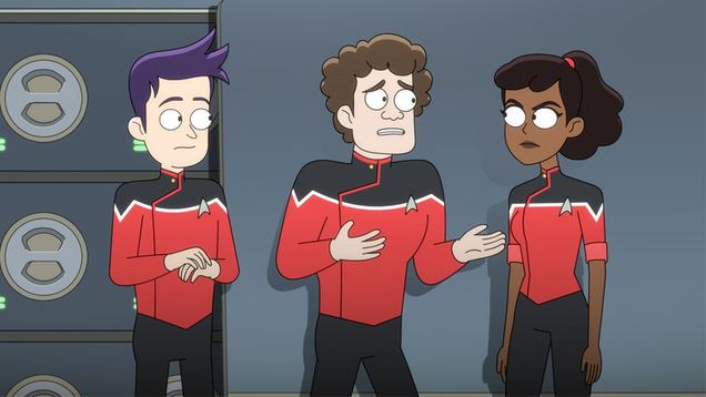 On Star Trek: Lower Decks, We Finally Meet an Ensign Who Actually Sucks at Their Job